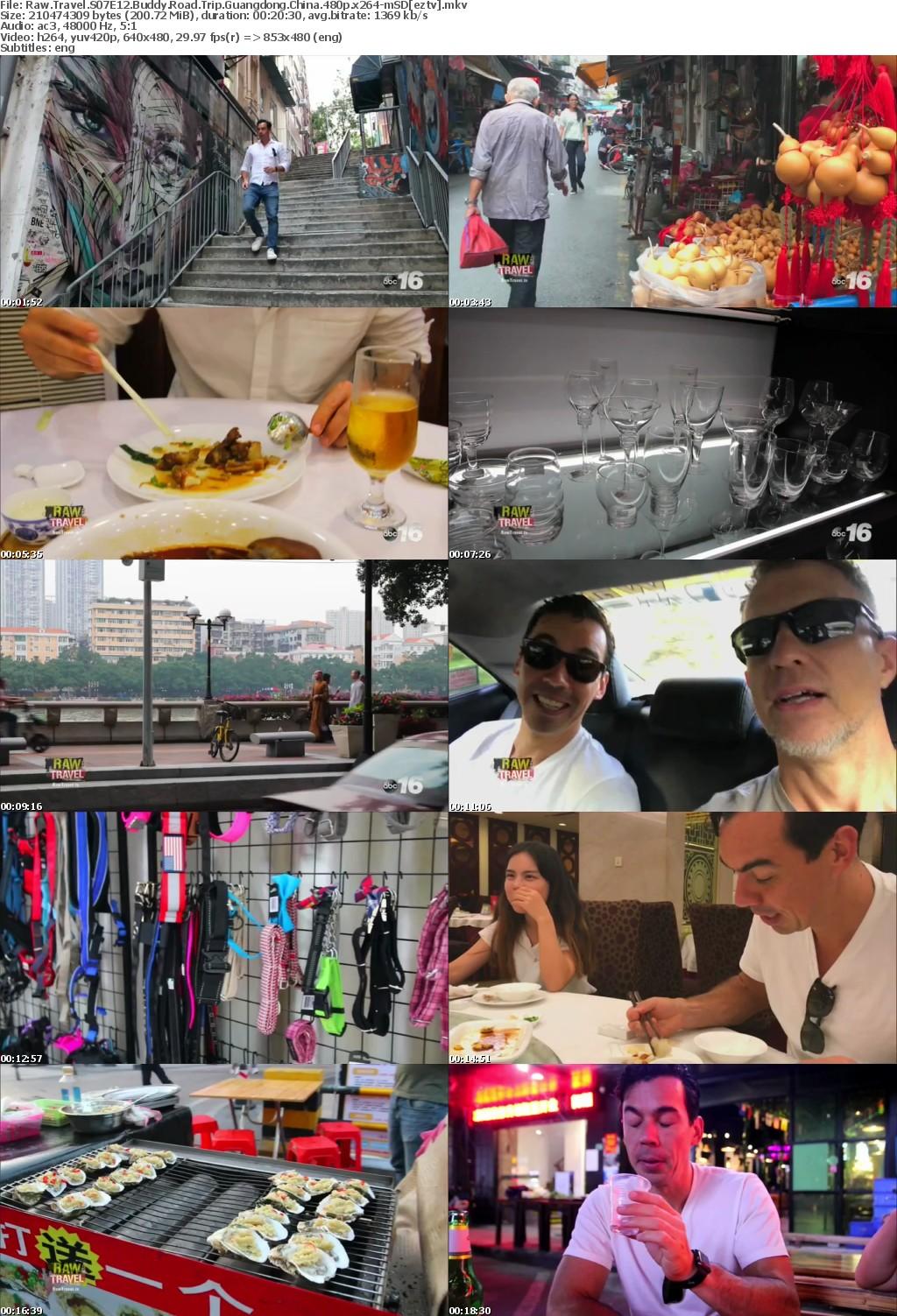 Raw Travel S07E12 Buddy Road Trip Guangdong China 480p x264-mSD