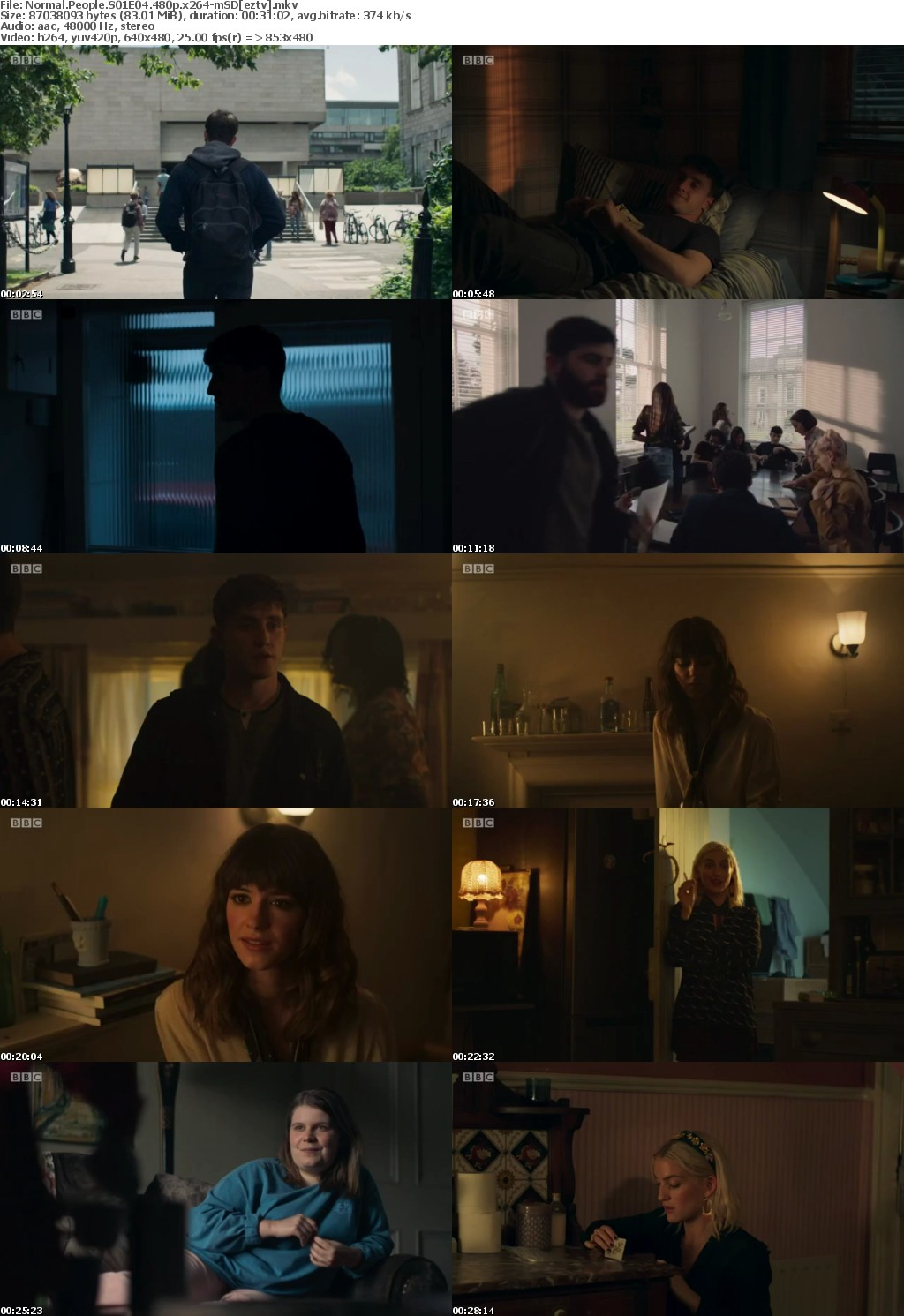 Normal People S01E04 480p x264-mSD