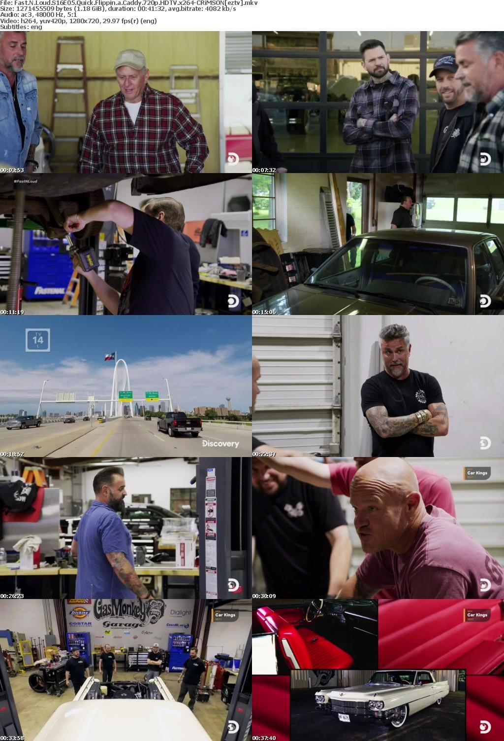 Fast N Loud S16E05 Quick Flippin a Caddy 720p HDTV x264-CRiMSON