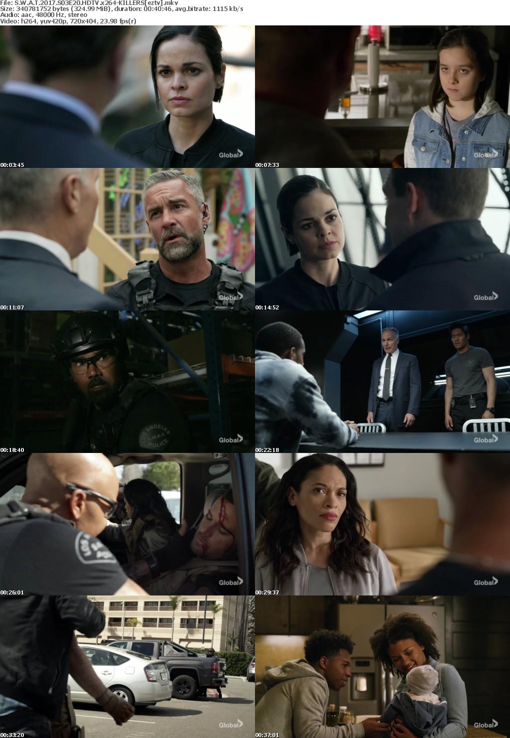 S W A T 2017 S03E20 HDTV x264-KILLERS