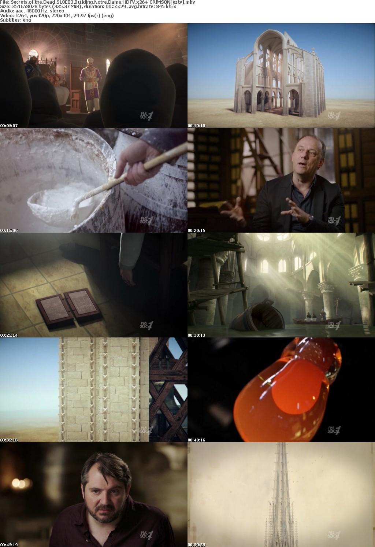 Secrets of the Dead S18E03 Building Notre Dame HDTV x264-CRiMSON