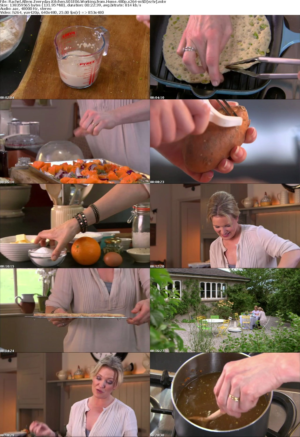 Rachel Allens Everyday Kitchen S01E06 Working from Home 480p x264-mSD