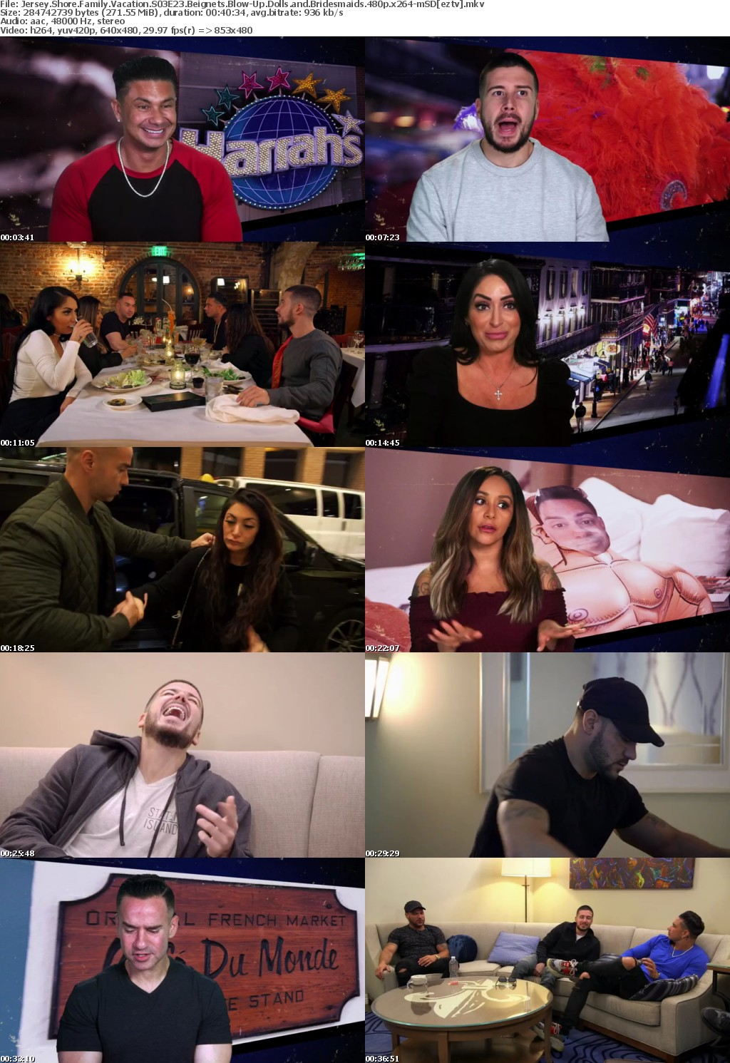 Jersey Shore Family Vacation S03E23 Beignets Blow-Up Dolls and Bridesmaids 480p x264-mSD