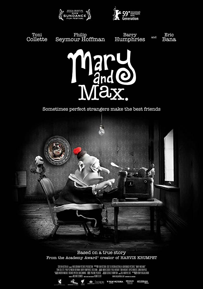 Mary and Max 2009 1080p BluRay x265-RARBG