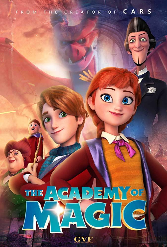 The Academy Of Magic 2020 1080p WEBRip X264 DD 5 1-EVO