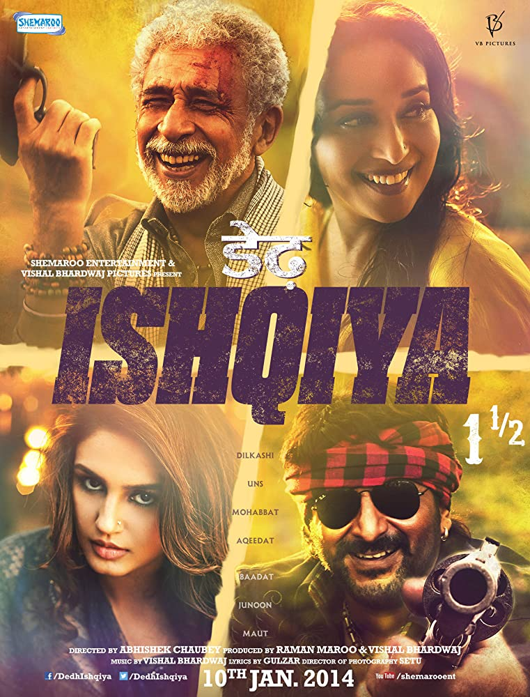 Dedh Ishqiya 2014 Hindi 720p BluRay x264 AAC 5 1 MSubs - LOKiHD - Telly