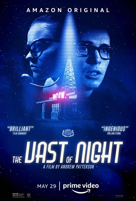 The Vast of Night (2019) HDRip 720p Hindi-Dub Dual-Audio x264