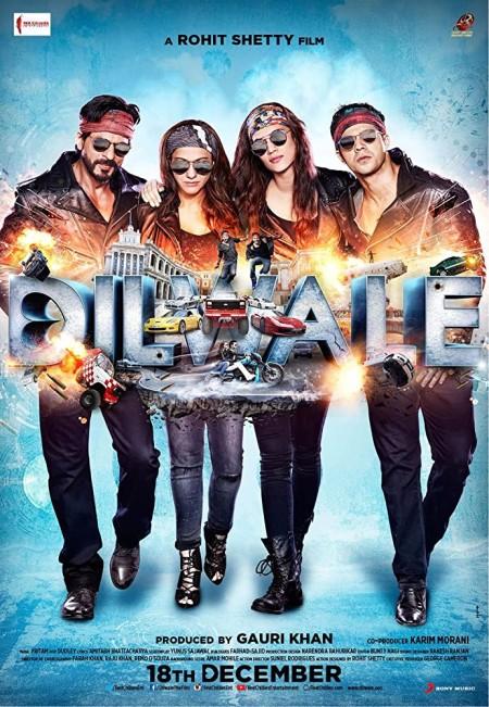 Dilwale 2015 Hindi 720p BluRay x264 AAC 5 1 ESubs - LOKiHD - Telly