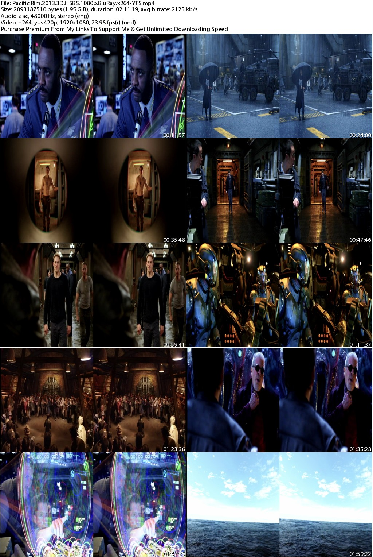 Pacific Rim (2013) 3D HSBS 1080p BluRay x264-YTS