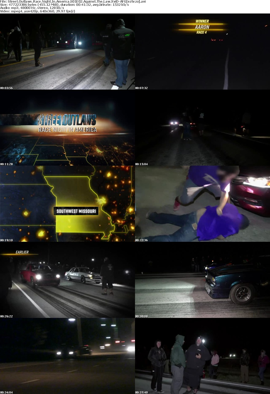 Street Outlaws Race Night In America S01E02 Against The Law XviD-AFG