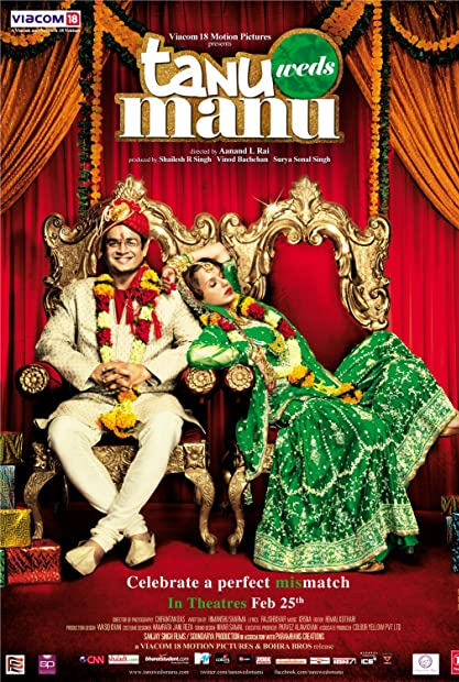 Tanu Weds Manu 2011 Hindi 1080p BluRay x264 DD 5 1 ESubs - LOKiHD - Telly