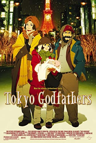 Tokyo Godfathers 2003 REMASTERED DUBBED 1080p BluRay H264 AAC-RARBG