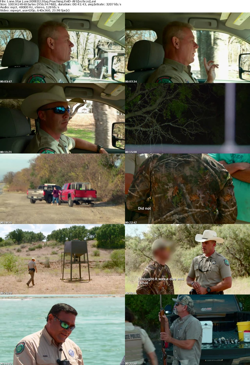 Lone Star Law S08E02 Stag Poaching XviD-AFG