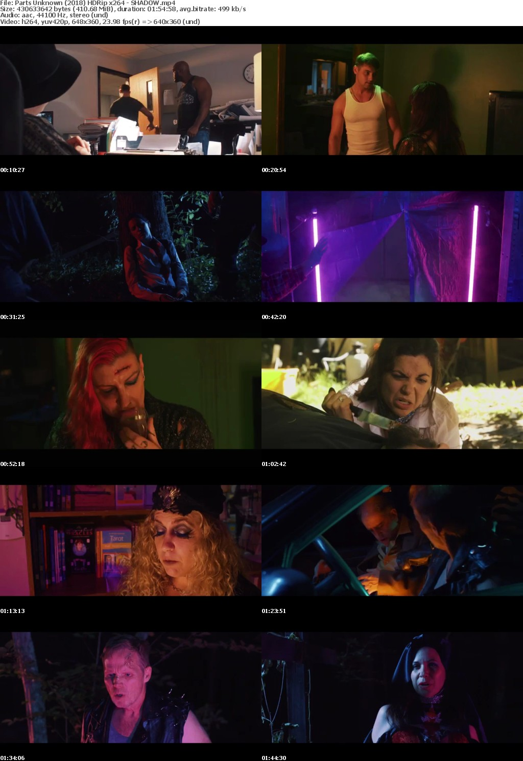 Parts Unknown (2018) HDRip x264 - SHADOW