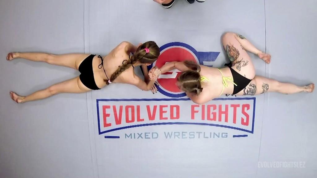 EvolvedFightsLez 20 07 28 Kaiia Eve And Kyaa Chimera Arm Wrestling XXX 1080p MP4-WEIRD