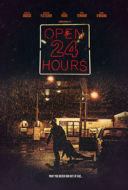 Open 24 Hours (2018) 720p HDRip Hindi-Dub Dual-Audio x264