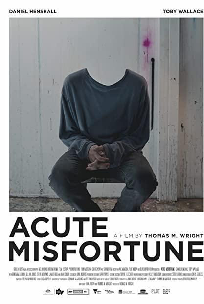Acute Misfortune 2018 720p WEBRip 800MB x264-GalaxyRG