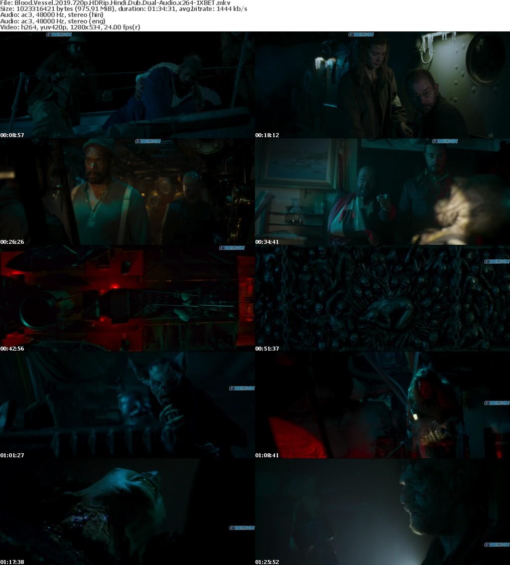 Blood Vessel (2019) 720p HDRip Hindi-Dub Dual-Audio x264 - 1XBET