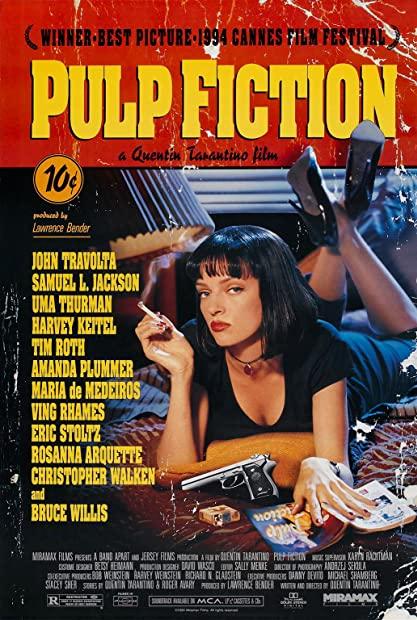 Pulp Fiction 1994 720p BluRay 999MB HQ x265 10bit-GalaxyRG