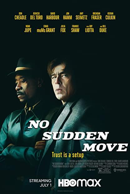 No Sudden Move 2021 1080p WEBRip 1400MB DD5 1 x264-GalaxyRG
