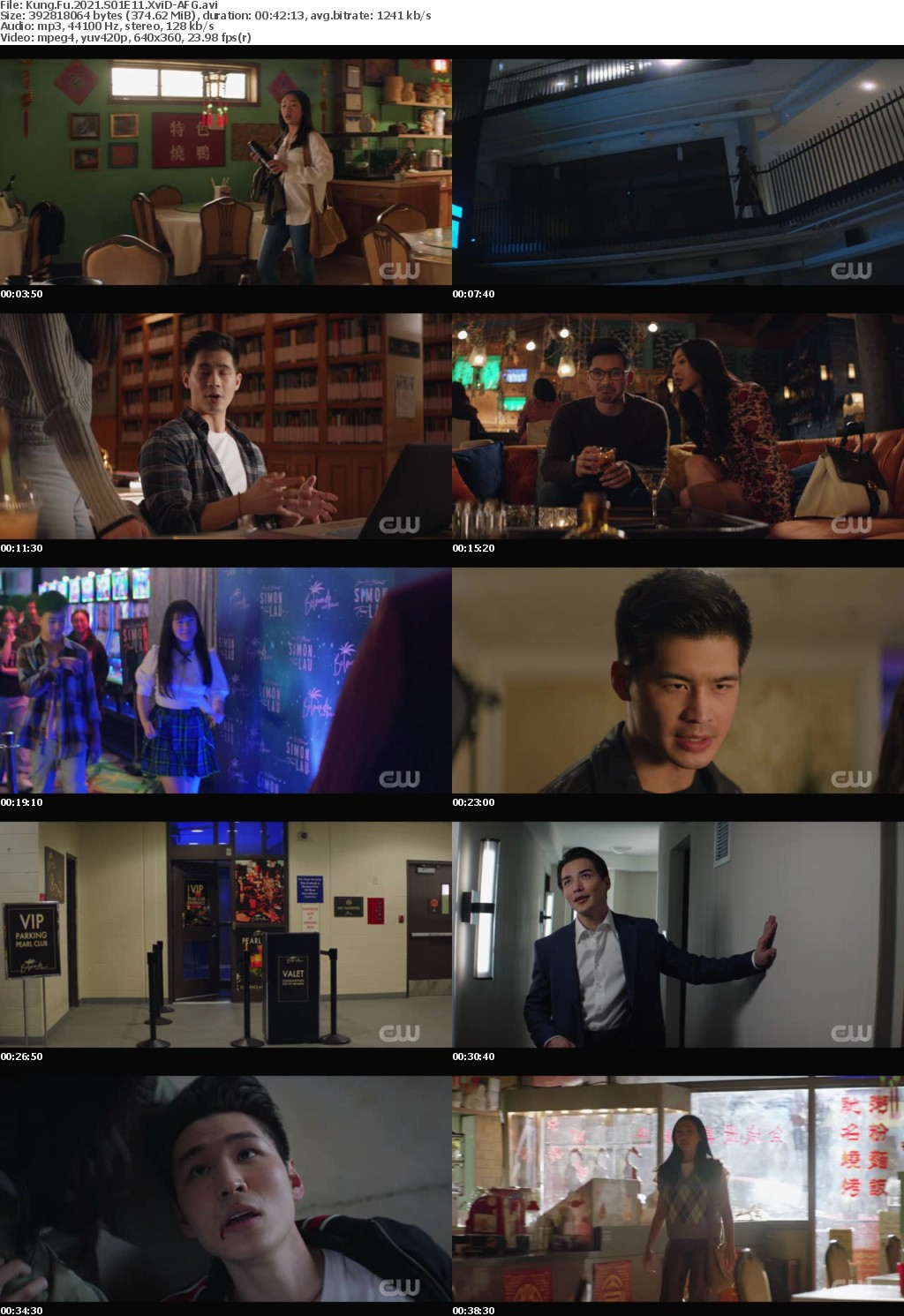 Kung Fu 2021 S01E11 XviD-AFG