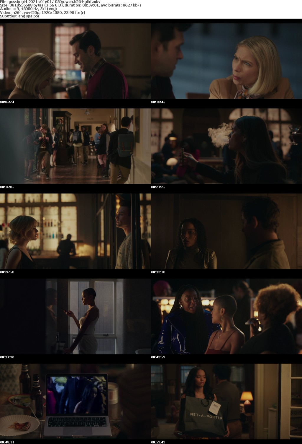Gossip Girl 2021 S01E01 1080p WEB H264-GLHF