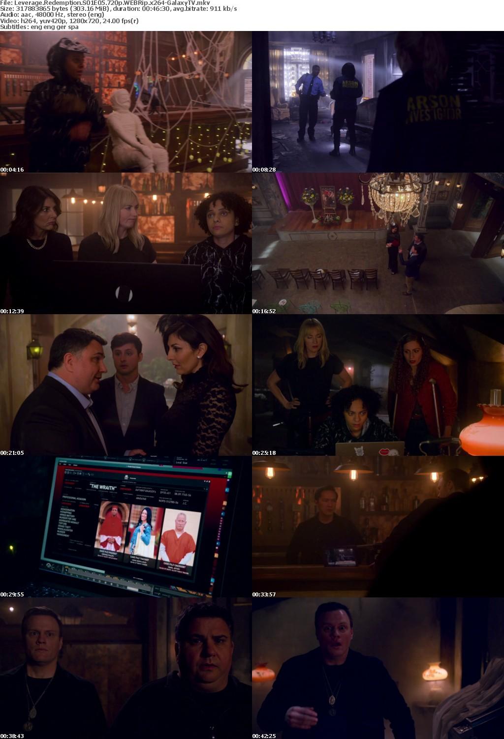 Leverage Redemption S01 COMPLETE 720p WEBRip x264-GalaxyTV