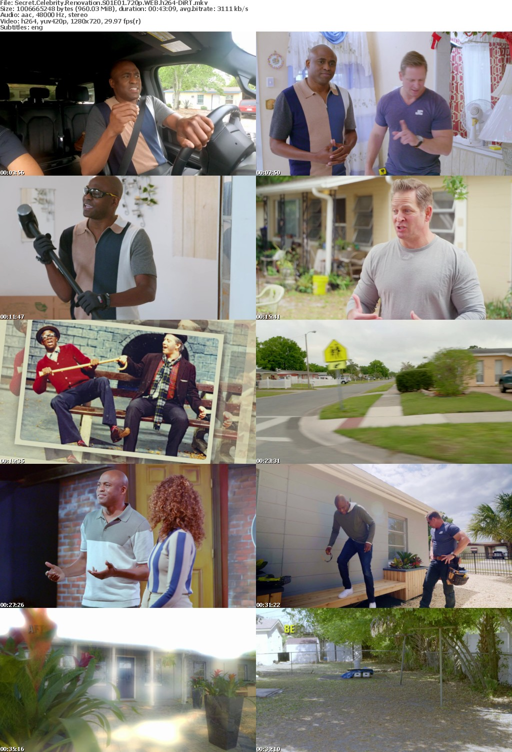 Secret Celebrity Renovation S01E01 720p WEB h264-DiRT