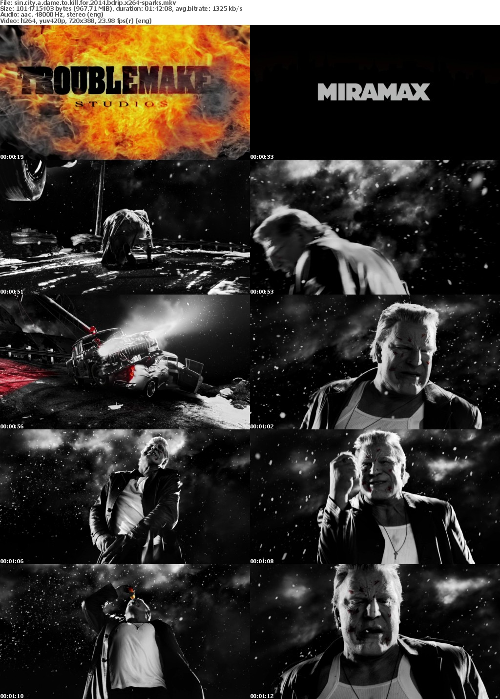 Sin City A Dame to Kill For 2014 BDRip x264-SPARKS