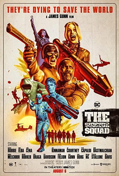 The Suicide Squad 2021 1080p HMAX WEBRip Hindi English AC3 ESubs x264 - mkvAnime Telly mkv