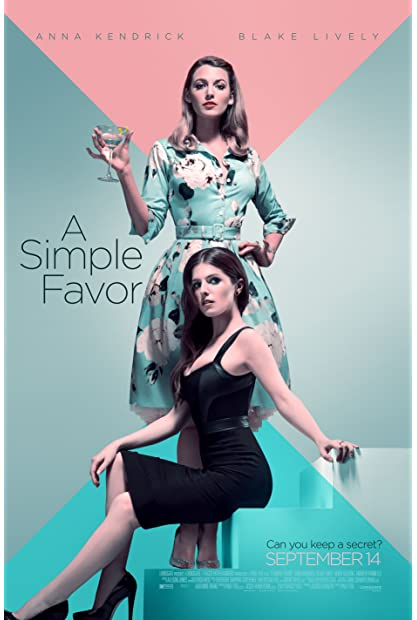 A Simple Favor (2018) 1080p BluRay x264 English AC3 5.1 ESub - SP3LL