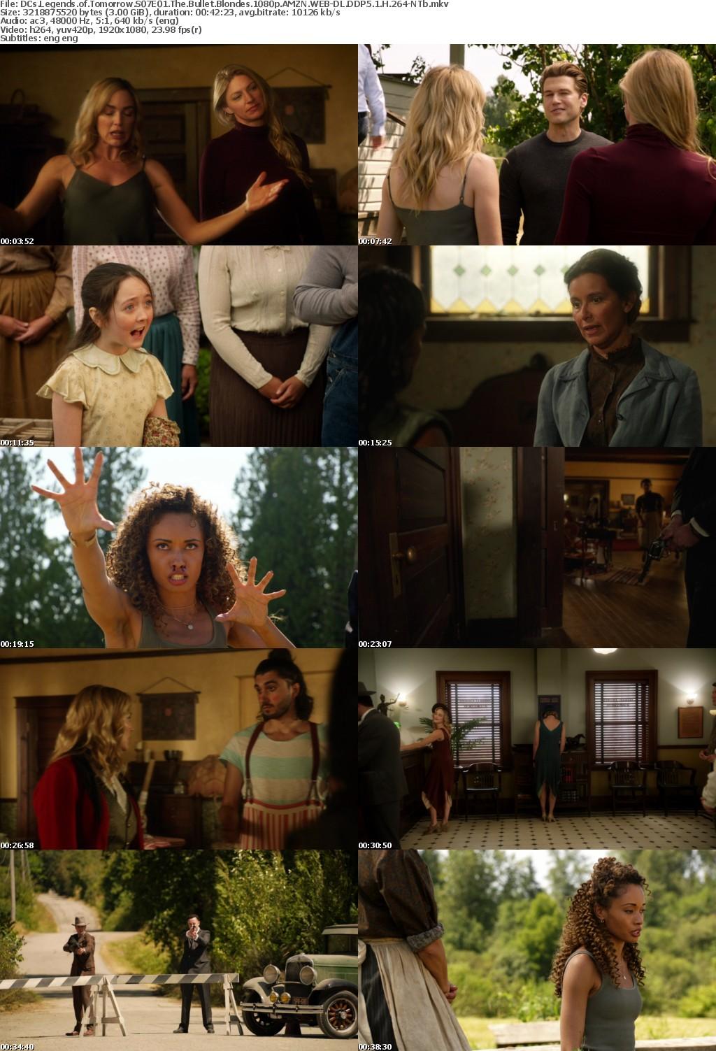 DCs Legends of Tomorrow S07E01 The Bullet Blondes 1080p AMZN WEBRip DDP5 1 x264-NTb
